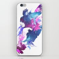iPhone & iPod Skin featuring Bloody Fight by Robert Farkas