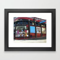 The Whisky A Go Go Framed Art Print