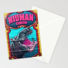 Circus Hippo Stationery Cards