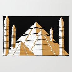 Pyramids Rug