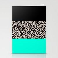 Leopard National Flag VI… Stationery Cards