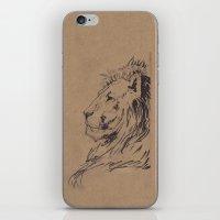 Lion Profile iPhone & iPod Skin