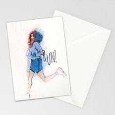 run Stationery Cards