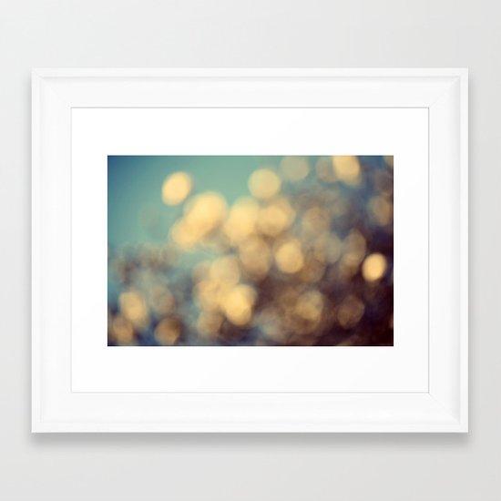 Dance of the Magnolia Blossoms Framed Art Print