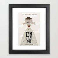 Tabi Tabi Po (Philippine… Framed Art Print