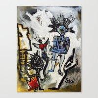 Destruction of Radiance Canvas Print
