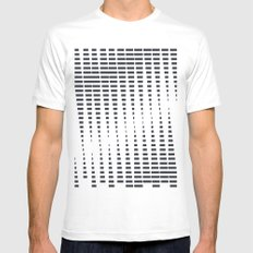 2012 Moon Phases White Mens Fitted Tee SMALL