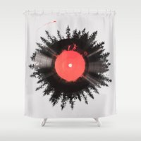The Vinyl Of My Life Shower Curtain