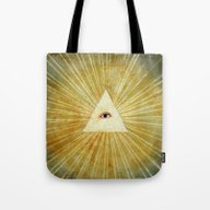 God's Eye Tote Bag
