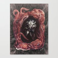 Within The Nightmare Canvas Print