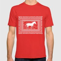 Unicorns N10 Mens Fitted Tee Red SMALL
