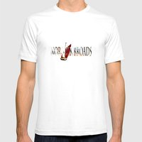 LANDSCAPE - Broadland walk Mens Fitted Tee White SMALL