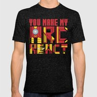You Make My Arc React  Mens Fitted Tee Tri-Black SMALL