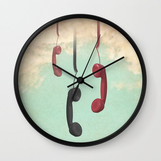 Message from Above Wall Clock