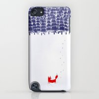 iPod Touch Cases featuring Alone in the forest by Robert Farkas