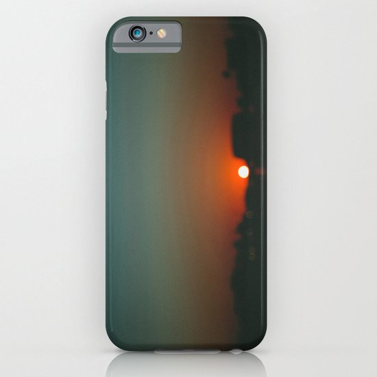 west at sunset iPhone & iPod Case