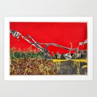 Plow The City Art Print