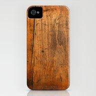 Wood Texture 340 iPhone (4, 4s) Slim Case