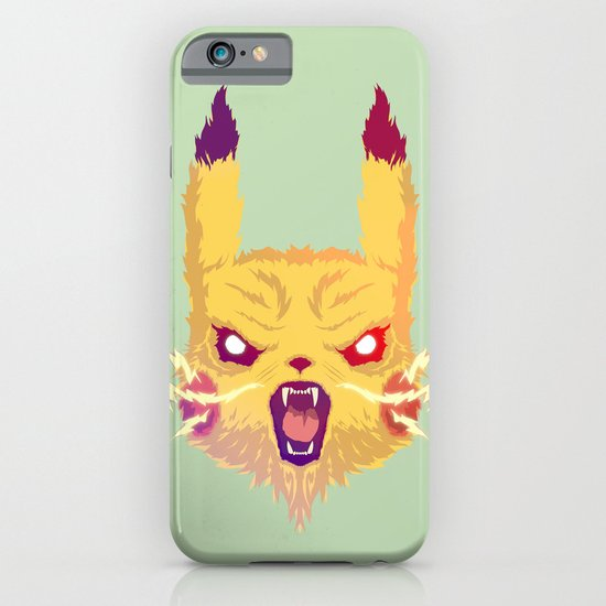 Voltage Pikachu iPhone & iPod Case