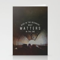 Mind What Matters Stationery Cards