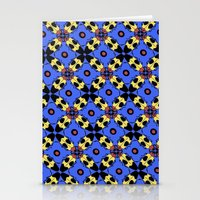 Beetles Pattern Stationery Cards