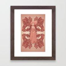 Spring Violence Framed Art Print