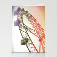 Vintage Ferris Wheel  Stationery Cards