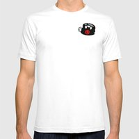 Love From Me To You Mens Fitted Tee White SMALL