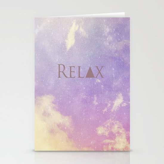 Relax Stationery Card