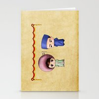 Vietnamese Chibis Stationery Cards