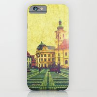 iPhone & iPod Case featuring Postcards From A Better Century: Sibiu, Romania by Leon Greiner