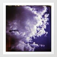 Lomographic Sky 4 Art Print