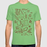 Tea things Mens Fitted Tee Grass SMALL