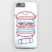 iPhone & iPod Case featuring Street burger  by SpazioC