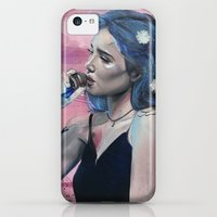 iPhone Cases featuring Blue by Monika Gross