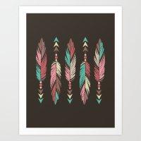 Gentle Warrior Art Print