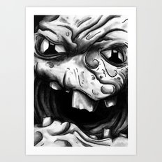 Rogues Gallery - Clayface Art Print
