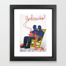 Adonais Framed Art Print