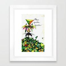 Three Points Forever Framed Art Print