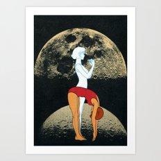 Lunar Effect Art Print