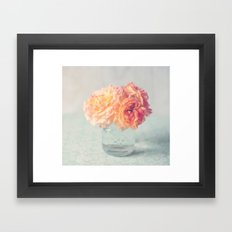 Roses for your soul Framed Art Print