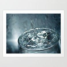 water drop 2 Art Print