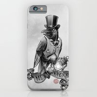 iPhone Cases featuring Nevermore. The Crow by E. A. Poe by pakowacz