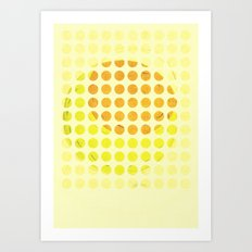 sunny side up #1 Art Print