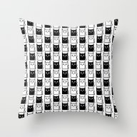 A Chess Of Cats Throw Pillow