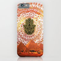 iPhone & iPod Case featuring Hamsa Pyramids by Silvana di Borboni
