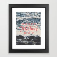 Mother's Day Framed Art Print