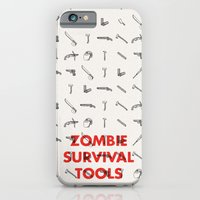Zombie Survival Tools - Pattern 'o tools iPhone 6 Slim Case