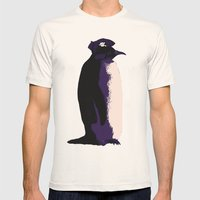 Penguin Pirate Mens Fitted Tee Natural SMALL