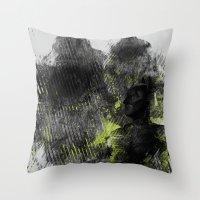 Polar Opposite Throw Pillow